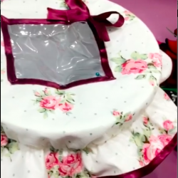 ورشة خياطة غطاء لحافظة العجين